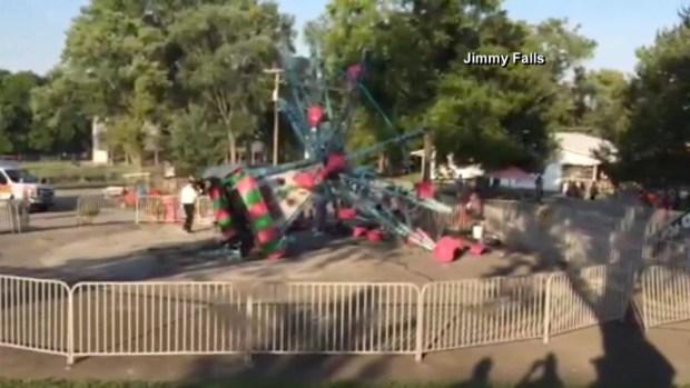 Accidente en parque de atracciones deja siete heridos
