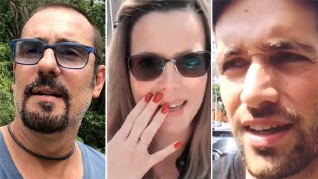 Actores de Telemundo viven terremoto en Mexico