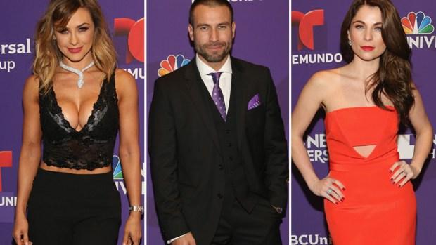 Actores deslumbran en la alfombra de Telemundo