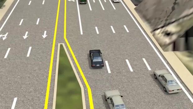 [TLMD - MIA] Animación del nuevo acceso al Dolphin Expressway