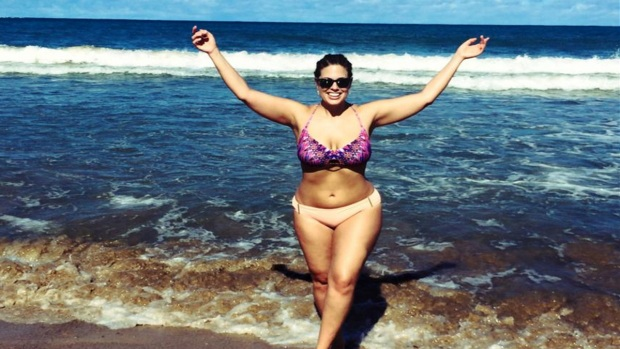 "Ashley Graham, la modelo ""gordita"" que cautiva al mundo"