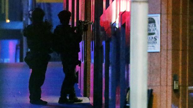 Fotos: pánico en Sídney con toma de rehenes