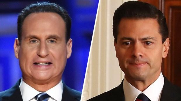 """[TLMD - MIA] Díaz-Balart """"se enfrenta"""" a Peña Nieto y lanza duro mensaje"""
