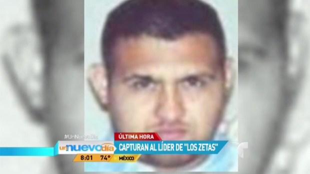 Capturan al Z-42, líder de Los Zetas