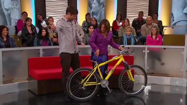 Caso Cerrado: la bicicleta orgásmica - Demandada