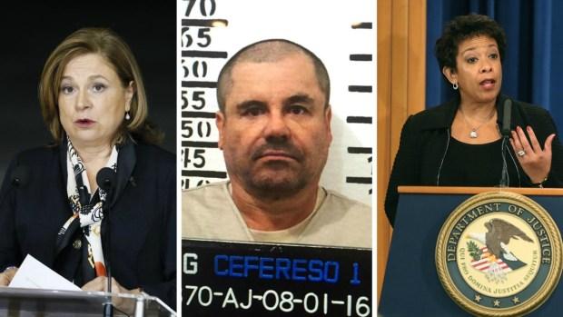 """Fotos: el futuro de """"El Chapo"""" en manos de dos mujeres"""