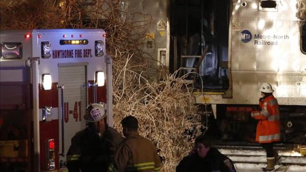 Fotos: Mortal accidente de tren en Nueva York