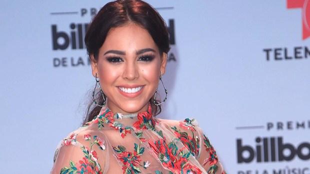 Danna Paola con ropa interior al descubierto en alfombra roja de Billboard
