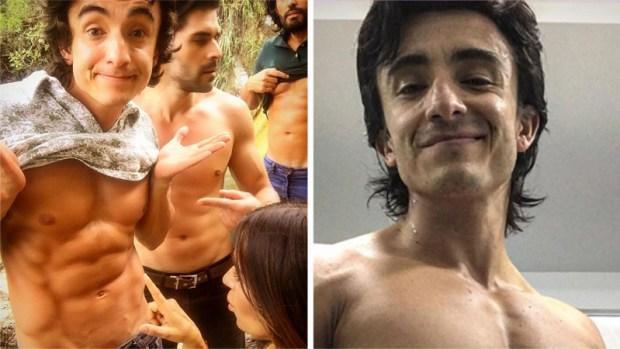 """Actor de """"Sin senos sí hay paraíso"""" se transformó para salir de la depresión"""