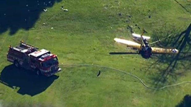 Video: Investigan accidente aéreo de Harrison Ford