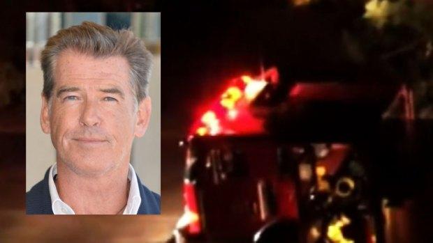 """Video: Mansión de """"James Bond"""" arde en llamas"""