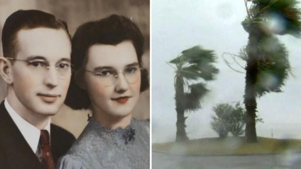 Irma y Harvey, dos personas que comparten algo más fuerte que un huracán