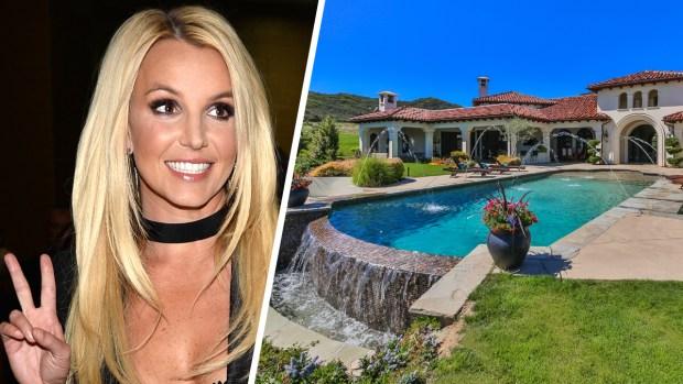 """Por dentro: la millonaria """"casita"""" recién vendida por Britney Spears"""
