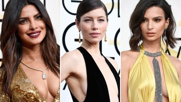 Las más sexys de los Golden Globes