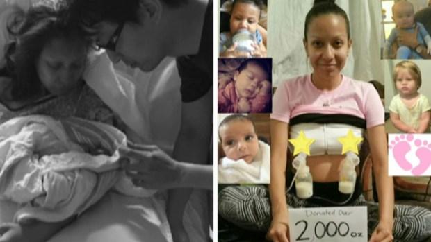 Transforman la pérdida de su bebé en un regalo de vida