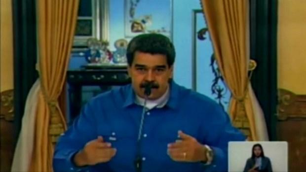 """[TLMD - LV] Maduro dice que Trump """"ataca libertad de circulación"""" tras suspensión de vuelos"""