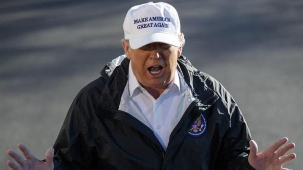 El cheque de México y el muro, lo más impactante de la visita de Trump a la frontera