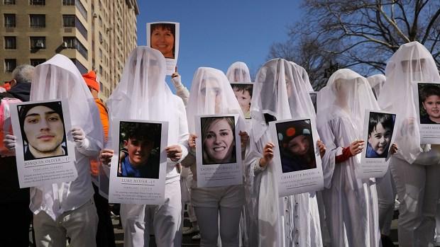 """En imágenes, histórica """"Marcha por nuestras vidas"""""""