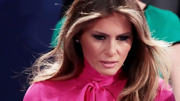 Causa controversia blusa de Melania Trump