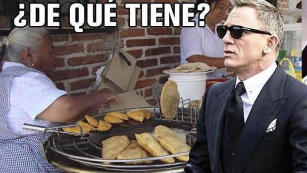 Memes del rodaje de James Bond en México