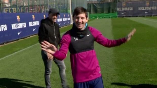 [TLMD - NATL] Messi impresiona a Ramazzoti con súper gol