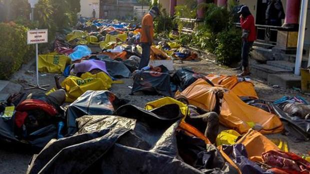 La ciudad de la muerte: cadáveres se apilan tras catástrofe