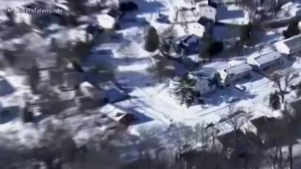[TLMD - MIA] Filadelfia amanece bajo la nieve