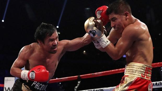 Pacquiao vuelve con sus golpes y otra vez es campeón