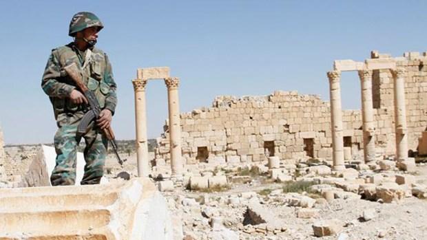 Fotos: cómo la guerra destruyó una ciudad de 2,000 años
