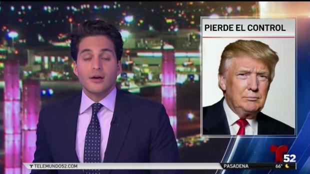 """Trump llama a Pelosi """"política de tercera"""""""