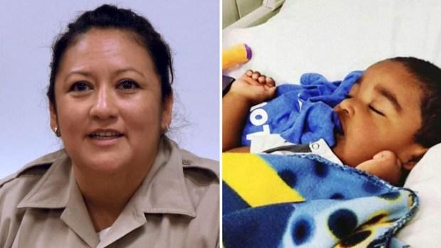 El increíble sacrificio de policía hispana para salvarle la vida a un niño