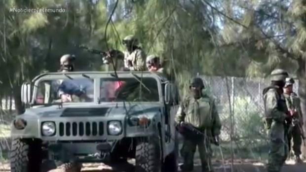 Operación Jalisco combate a tiros a crimen organizado