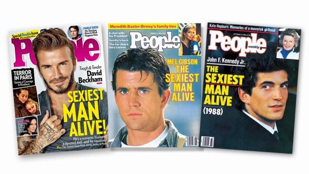 Fotos: Los hombres más sensuales de la revista People