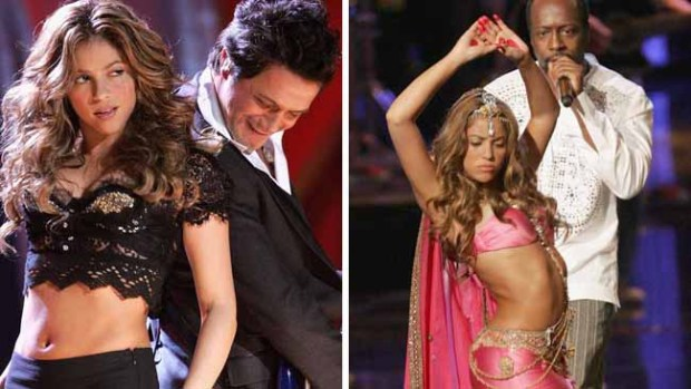 Shakira y sus colaboraciones para la historia