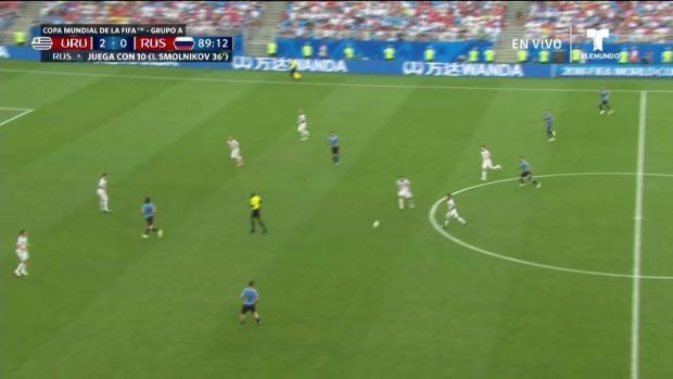 Tercer gol de uruguay