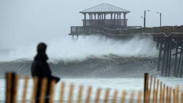 ¿Cómo se forma una marejada ciclónica?