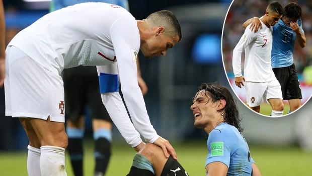 [World Cup 2018 published] El lindo gesto de Cristiano Ronaldo ante Uruguay
