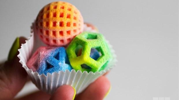 Video: 3D-Printing: De la impresora a tu boca