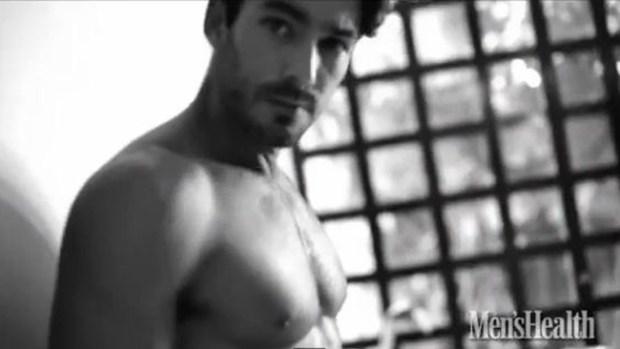 Video: Aarón Díaz en candentes fotos