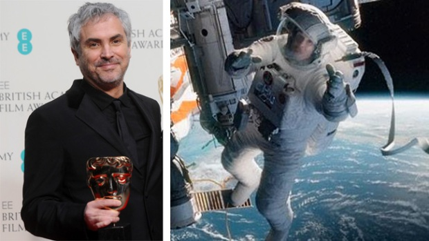 "Video: Gran premio para Cuarón por ""Gravity"""