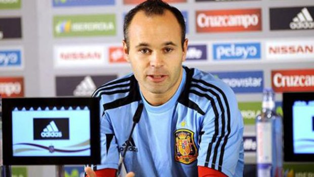 Video: Andrés Iniesta debuta como actor
