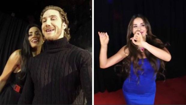 """Video: """"Reina de Corazones"""": actores se contagian con """"Bailando"""""""