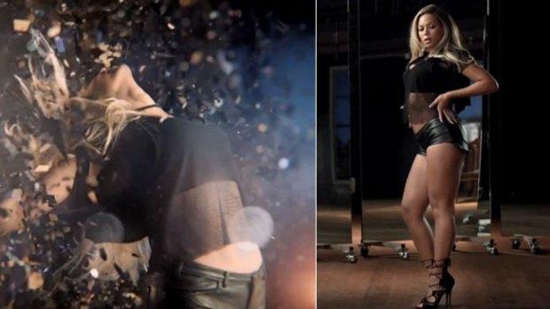 Video: Espejos arden con Beyonce