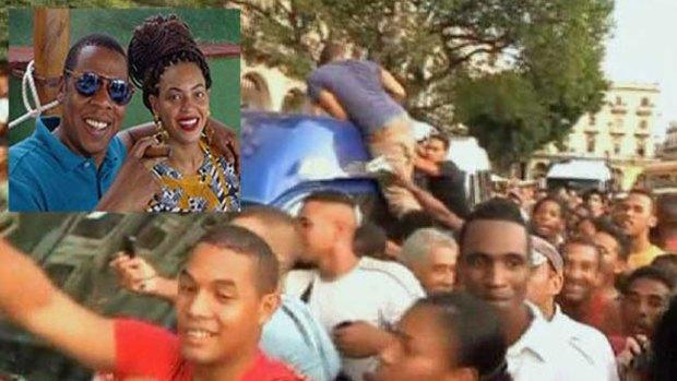 Video: La Habana se rinde ante Beyonce