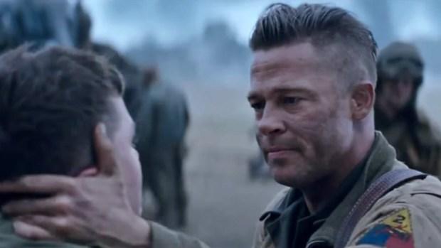 """Video: Brad Pitt encabeza estreno de """"Fury"""""""