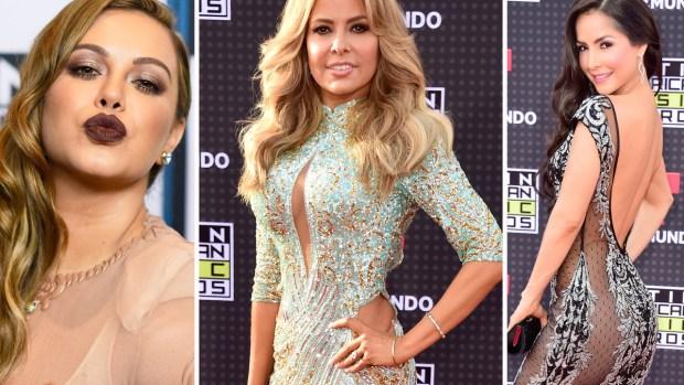 Lo más sexy y atrevido en la alfombra de Latin AMAs 2015