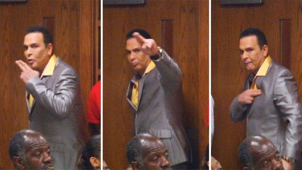 Video: Cairo ante el juez ¡tira un beso!