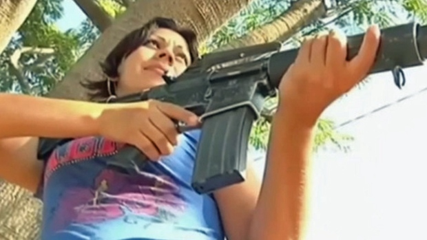 Video: Michoacán: la comandanta bonita