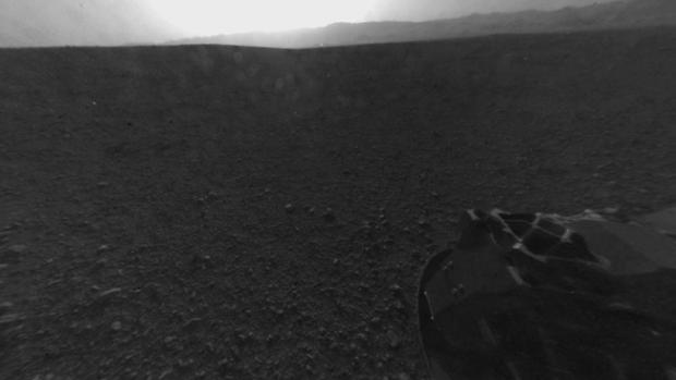 """El ojo fotográfico de """"Curiosity"""" en Marte"""