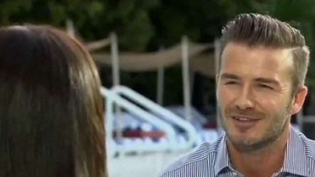 Video: Beckhman se confiesa con Dominicci